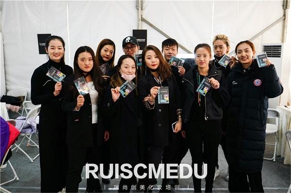 瑞尚创美化妆学校助阵中国国际时装周